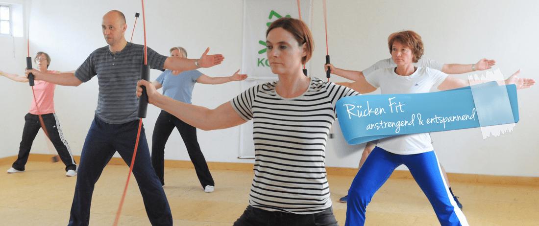 Rücken Fitness mit Anja Karweit - Fitness Trainerin aus Köln